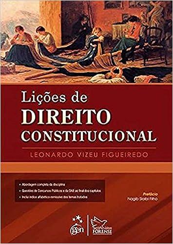 Book Licoes de Direito Constitucional