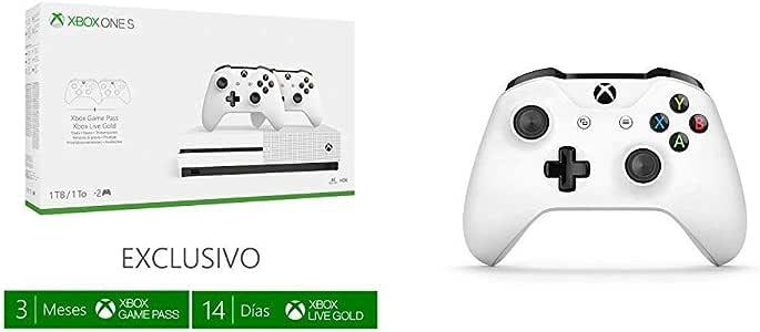 Xbox One S - Pack Con Consola 1 TB, 2 Mandos Y 3 Meses De Game ...