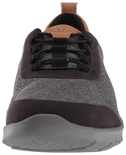 Fabric CLARKS Allenabay Heathered Black Black Heathered Step Step Womens CLARKS Sneaker Womens Sneaker Allenabay OqwO6r