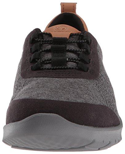 Clarks Black Step Allenabay Fabric Heathered Sneaker Women's rzv1qr