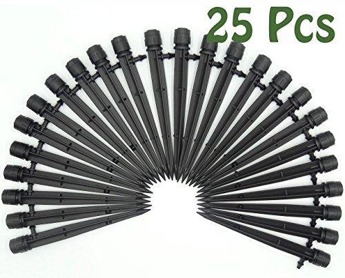 mini-skater-black-25-50-pcs-360-degree-adjustable-water-flow-irrigation-drippers-sprinklers-watering