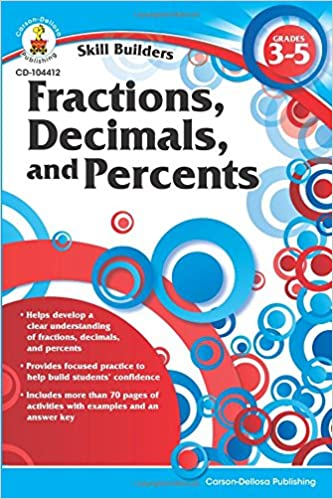 Read online Fractions, Decimals, and Percents, Grades 3 - 5 (Skill Builders) PDF, azw (Kindle), ePub