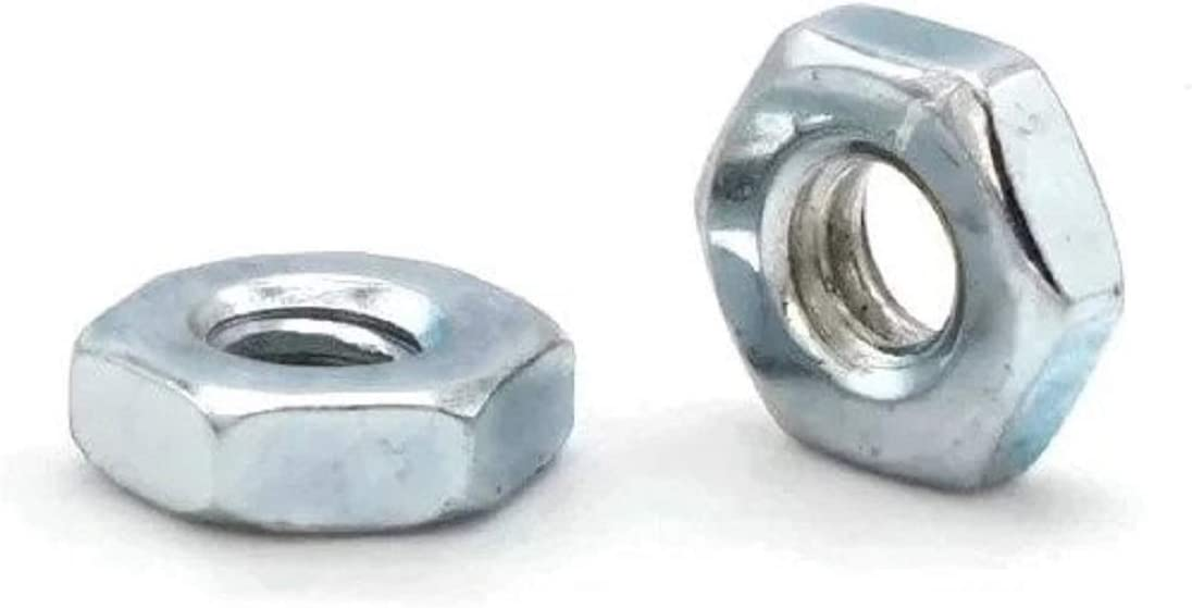 Zinc Plated Steel Machine Screw Hex Nuts #6-32 QTY 1000