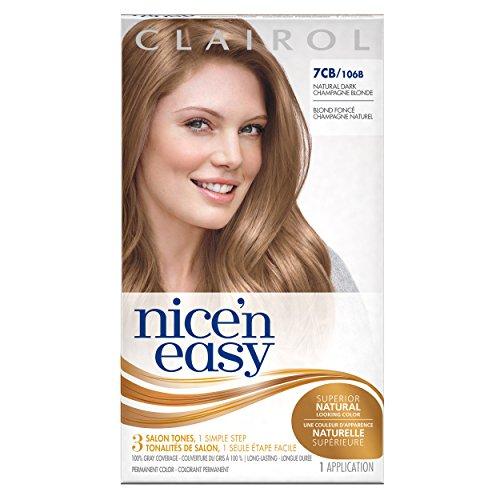 Clairol Nice 'N Easy Hair Color 106b Natural Dark Champag...