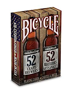 Bicycle Craft Beer Spirit Of North America Playing Cards Standard 1 Deck