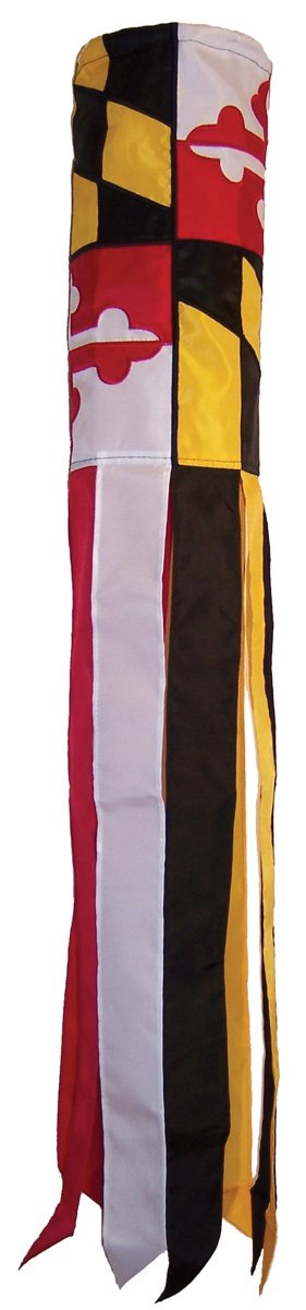In the Breeze Maryland Windsock, 40-Inch