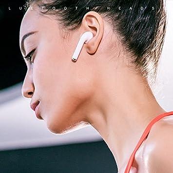 Auriculares inalámbricos Auriculares Bluetooth con micrófono Estéreo Sonido Envolvente para Correr y Estar en Forma Tecnología