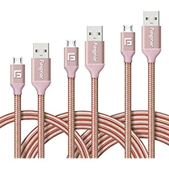 chic Mchoice LED Light Micro USB Charger Cable Data Charging Cord for Samsung galaxy s7 Edge