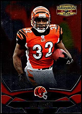 348043e43a9 2008 Donruss Gridiron Gear  22 Rudi Johnson NM-MT Cincinnati Bengals  Official NFL Football