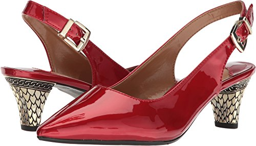 (J. Renee Womens Mayetta Red 10 W (C))
