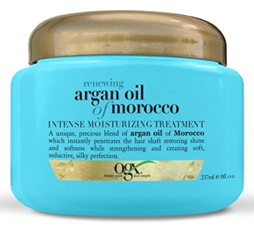 (OGX) Organix Moroccan Argan Oil Treatment 8oz Jar (Renewing Argan Oil Of Morocco Intense Moisturizing Treatment)
