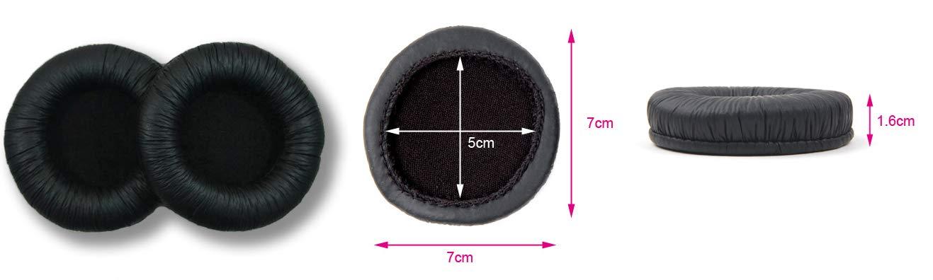 1 par Almohadillas de Repuesto para Auriculares SOFTROUND