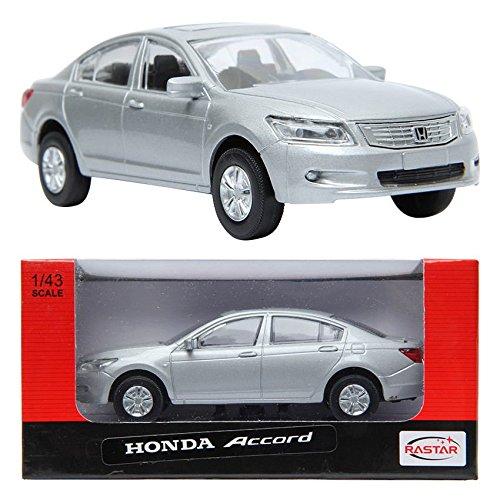 Silver 1:43 Die-cast Car minicar toy (Honda Toy)