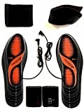 Electric heated insole Foot Warmers washable 5.5-12.5