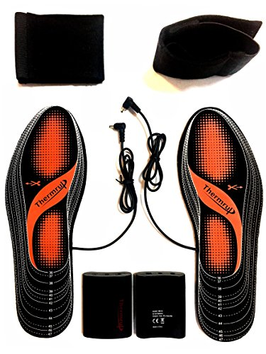 Thermrup Electric Heated Insole Foot Warmers Washable 5.5-12.5 – DiZiSports Store