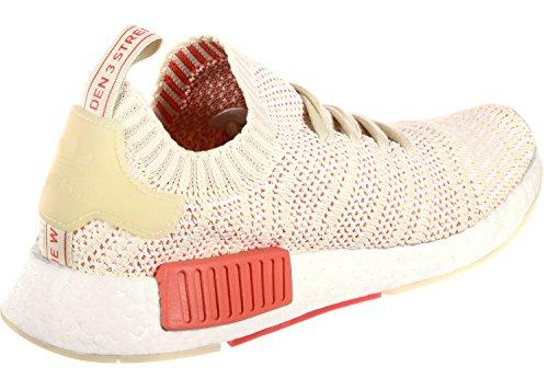 r1 Adidas Stlt Beige Mujer para Zapatillas NMD Primeknit HxUxZ1