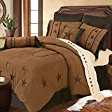HiEnd Accents Laredo Tan Western Bedding, King
