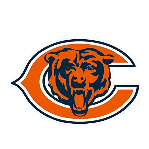 Chicago Bears Logo OriginalStickers0181 Set Of Two (2x) Stickers , Laptop , Ipad , Car , Truck , Size 4 inches on Longer Side