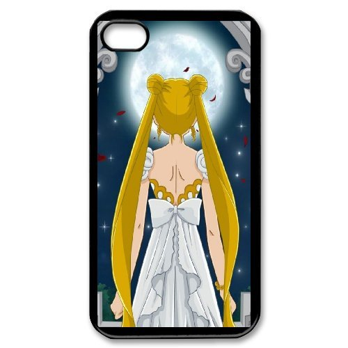 Sailor Moon Phone Case And One Free Tempered-Glass Screen Protector For iPhone 4,4S T137868