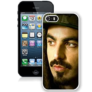 Beautiful Designed Cover Case With Huecco Dreadlocks Mustache Beard Cap (2) For iPhone 5S Phone Case