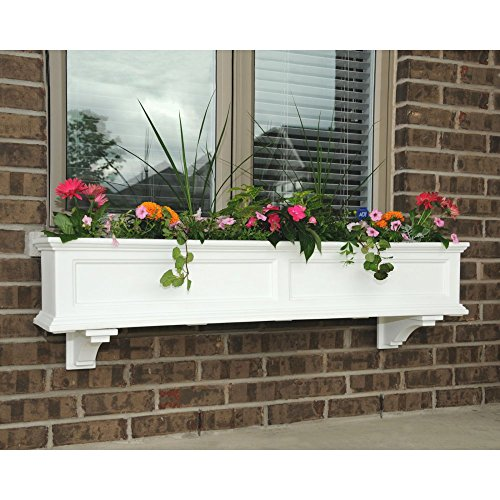 Fairfield Window Box 4ft White by Mayne