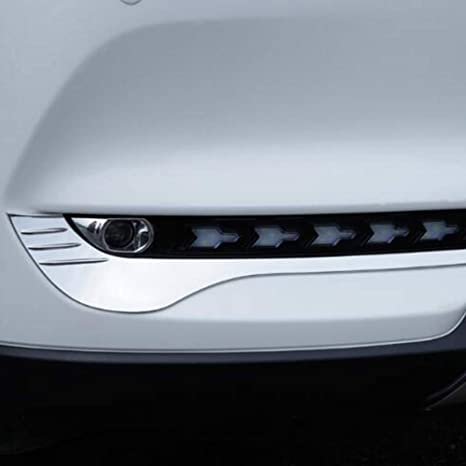 2* Chrome Side Mirror Rearview Stripe Cover Trim For Mazda 3 AXELA M3 2014 2015
