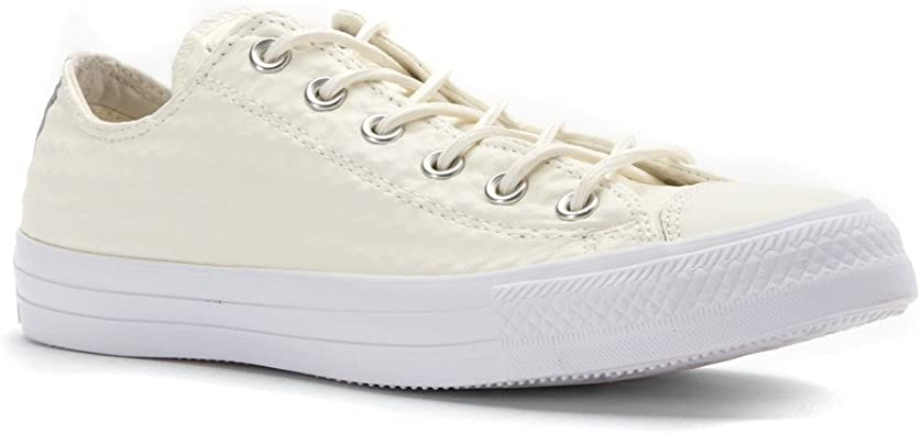 Converse All Star Craft Cuir B Ecru: Amazon.fr: Chaussures ...