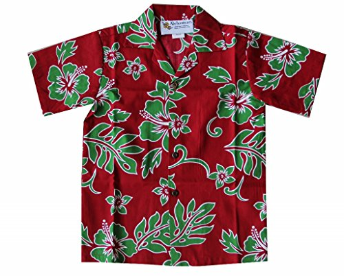 Top 10 recommendation hawaiian shirt boys red and green for 2019