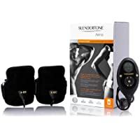 Slendertone Brazaletes de bíceps y tríceps H / F Tonificación Unisex-Adulto, Negro, 25 a 45 cm