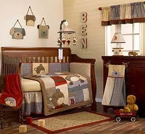 Amazon Com Cocalo Baby Nursery 6 Piece Crib Set Quot Buttons