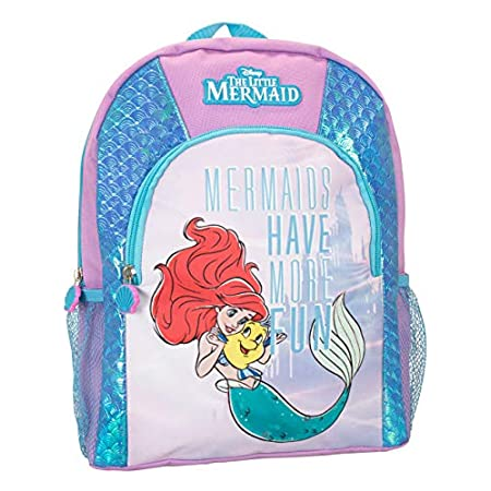 Zaino Disney Ariel per Bambina - Zainetto Principessa Ariel la Sirenetta - The Little Mermaid
