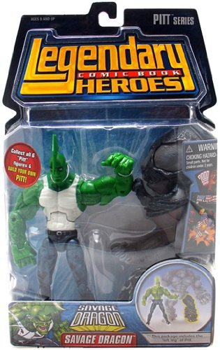 Legendary Comic Book Heroes Series 1 Savage Dragon (Tank Top Variant) Action Figure