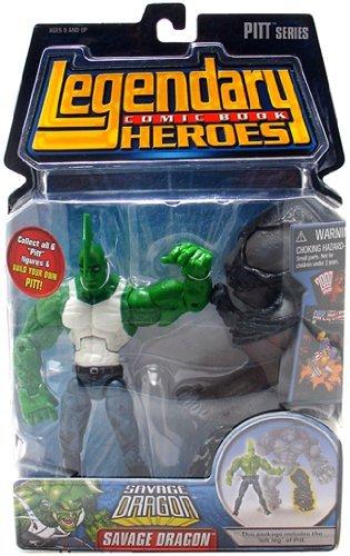 (Legendary Comic Book Heroes Series 1 Savage Dragon (Tank Top Variant) Action Figure)