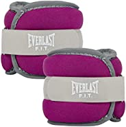 Everlast Comfort Fit Ankle/Wrist Weights 1 lb Each – 2 lb Total – Fuchsia