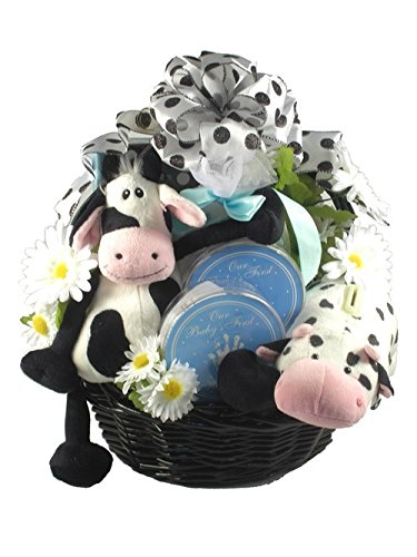 Gift Basket Drop Shipping BaFr Barnyard Friends, Baby Boy Gift Basket