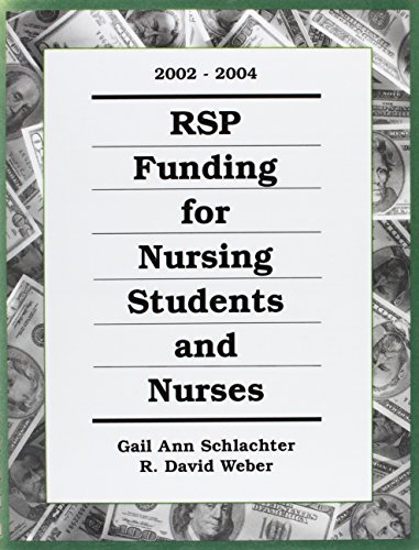 Rsp Funding for Nursing Students and Nurses 2002-2004