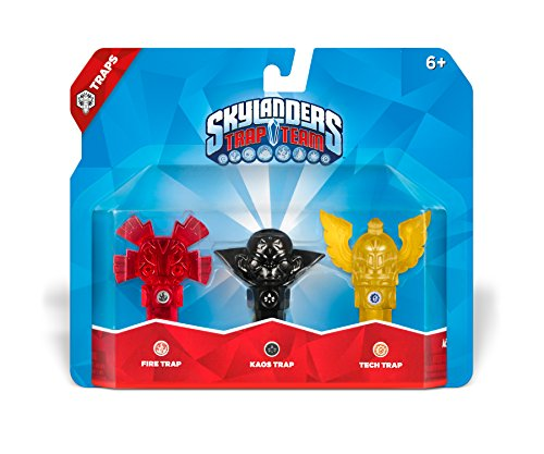 Skylanders - Trap Team - Traps: Fire + Kaos + Tech
