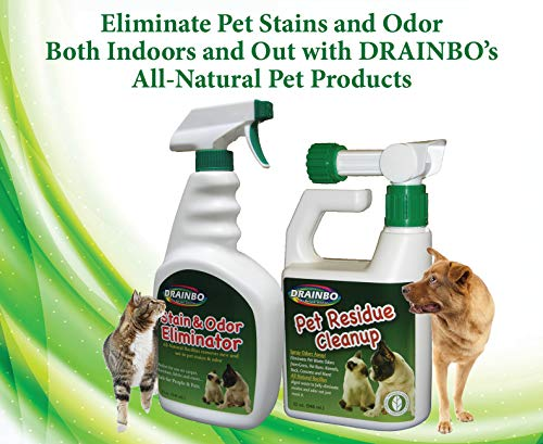 Drainbo Pet Residue Cleanup, 32-Ounce - 60001