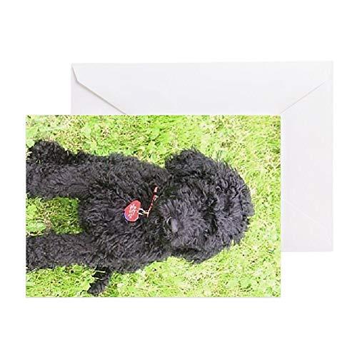 CafePress Little Blaze 2 Greeting Card, Note Card, Birthday Card, Blank Inside Matte -