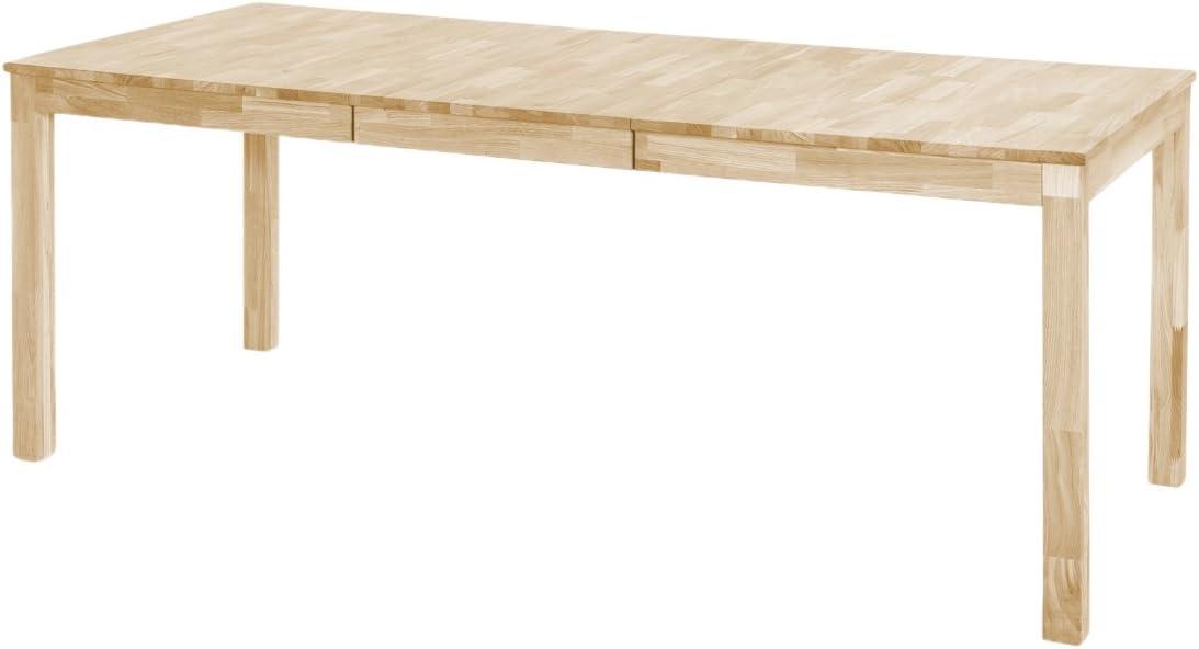 Robas Lund Esszimmertisch Tisch Massivholz Wildeiche Sergio BxHxT 80 x 76 x 80 cm