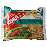 KOKA Oriental Instant Noodles The Original Vegetable Flavour(Pack of 9)