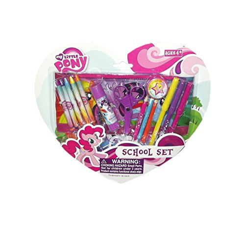 My Little Pony Crayons and Color Pen School Set
