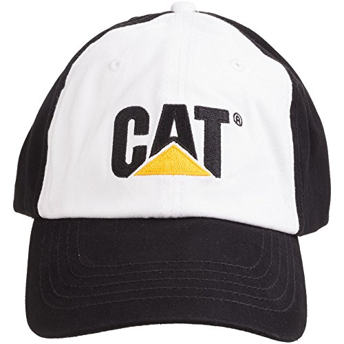 Mens Caterpillar Twill Cap Womens Logo amp; Black Uwwq70dR