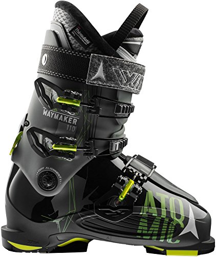 Atomic Waymaker 110 Ski Boot Anthracite/Black/Lime, 29.5 by Atomic