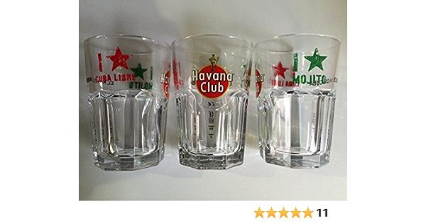 Havana Club 6X I Love Mojito - Vasos de cristal