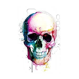 C-Y-F-CASE DIY Color Skull Pattern Phone Case for iPhone 5,5S