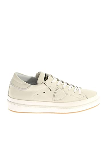 PHILIPPE MODEL HOMME CLLUVB08 BLANC CUIR BASKETS uo8r480