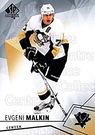 Amazon.com  (CI) Evgeni Malkin Hockey Card 2015-16 SP Authentic (base) 93 Evgeni  Malkin  Collectibles   Fine Art b69aefa99