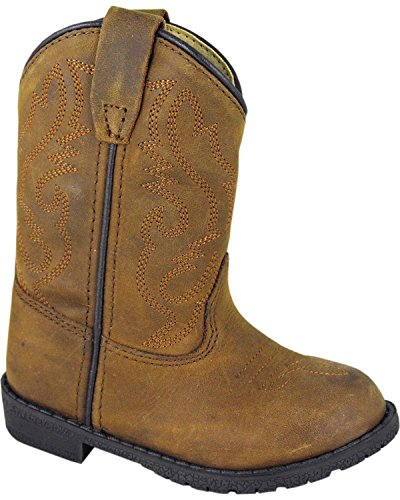 Image of Smoky Mountain Toddler-Boys' Hopalong Western Boot Round Toe - 3234T