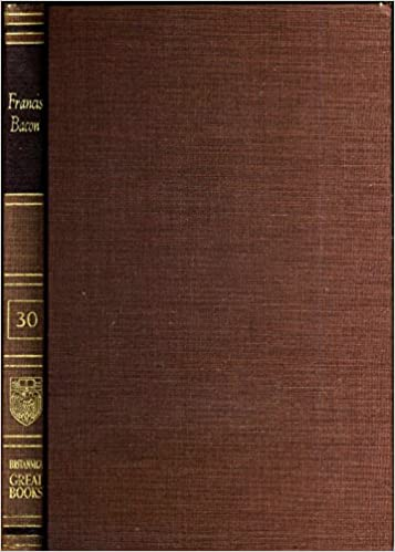 francis bacon advancement of learning novum organum new atlantis vol 30 of great books of the western world collection